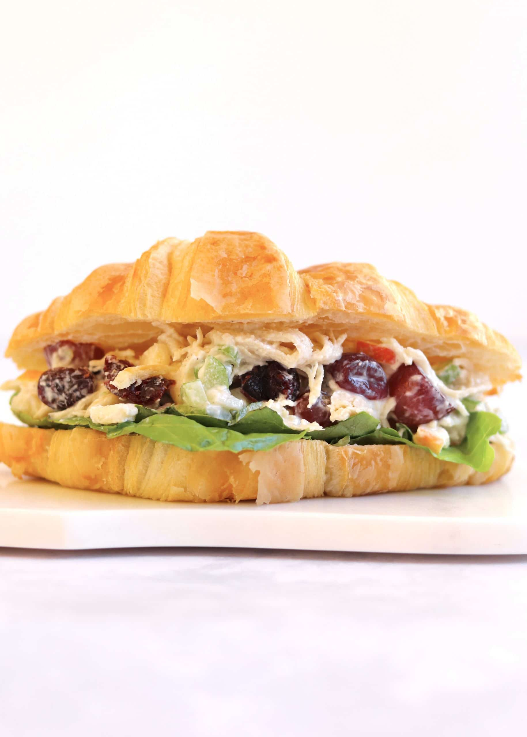 Chicken Salad Sandwich on a Croissant