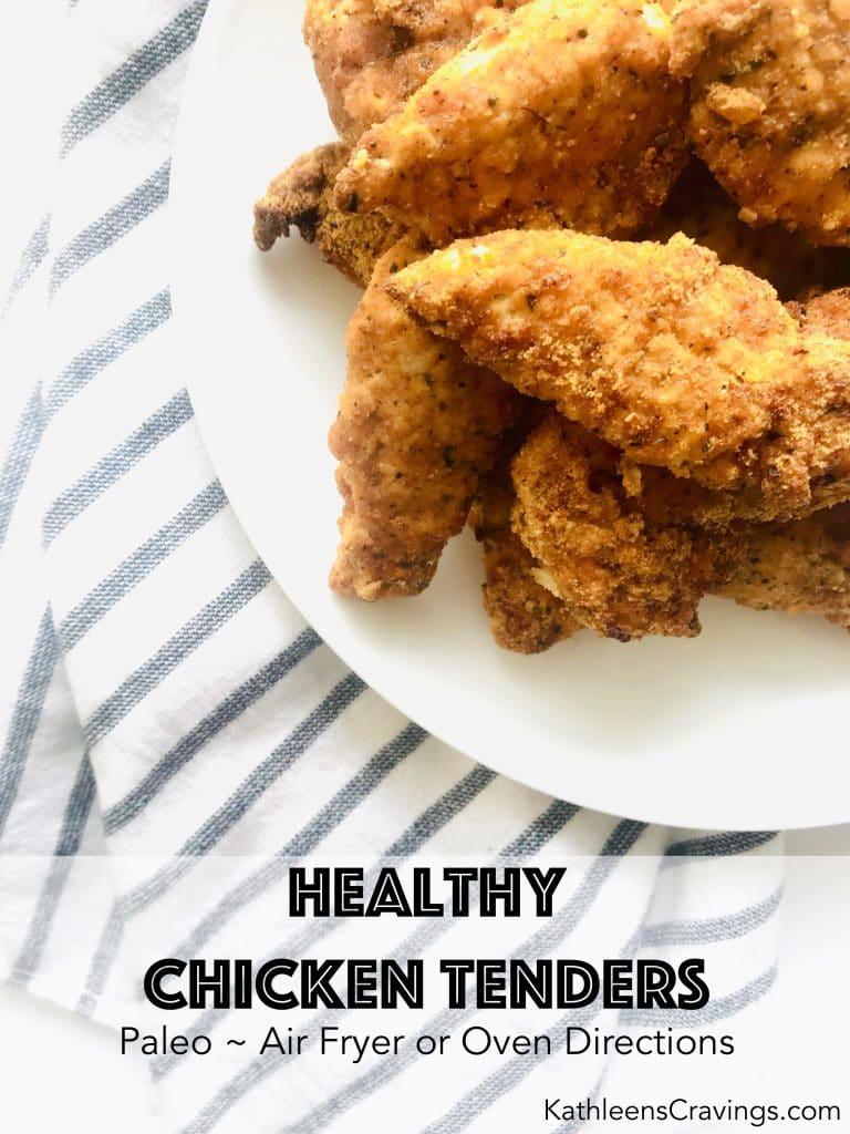 chicken tenders on plate