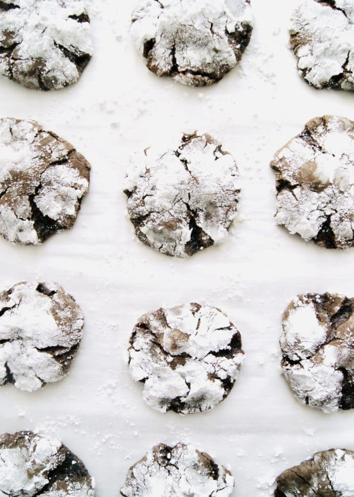 Chocolate-crinkle-cookies-on-parchment-v3