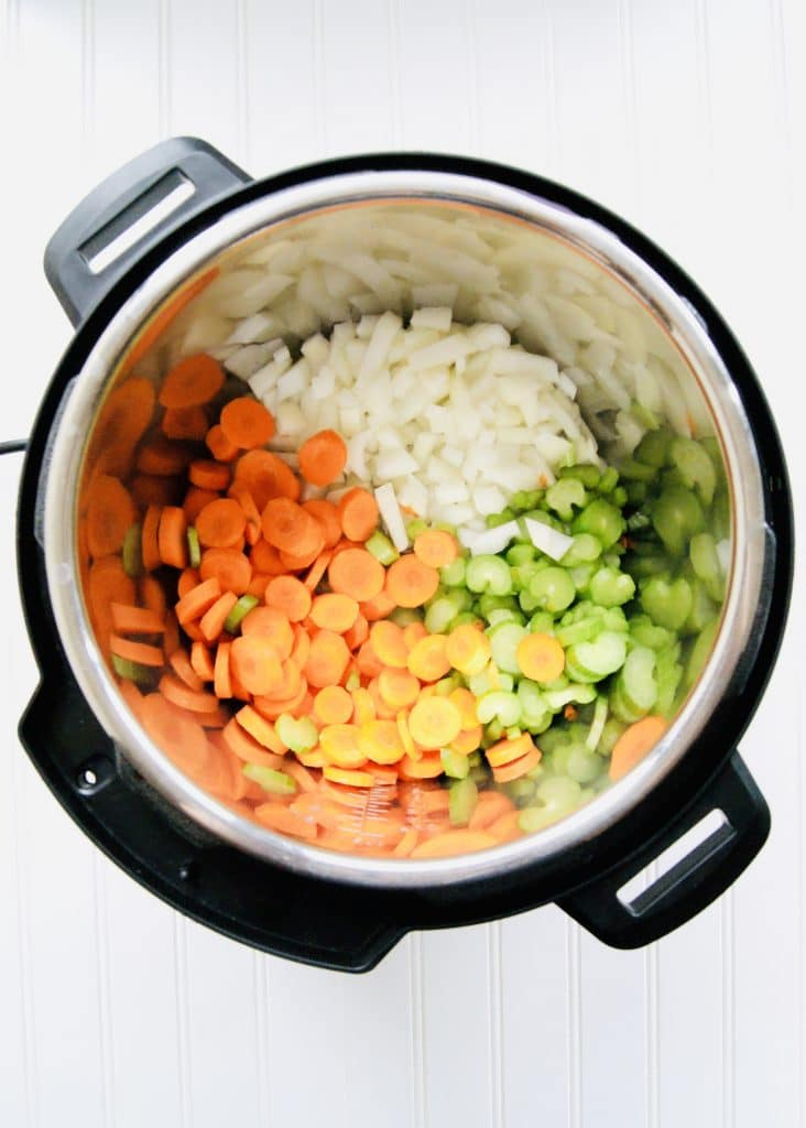 Chicken-soup-mirepoix-in-instant-pot