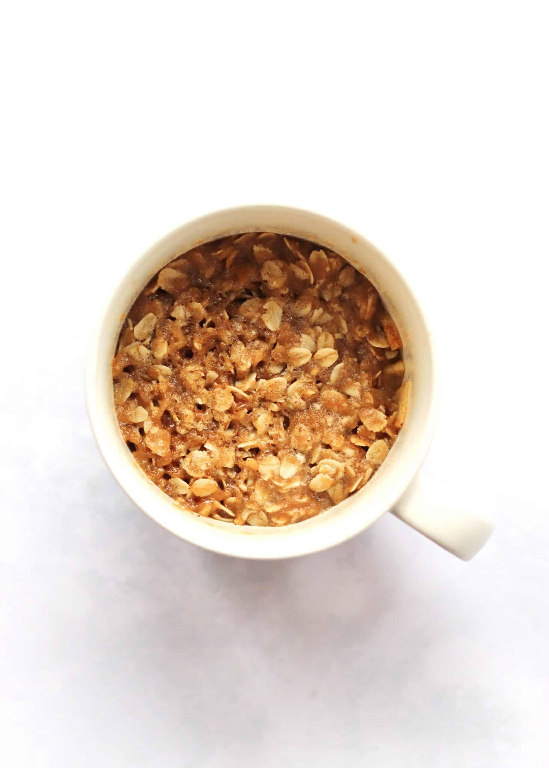 Mug apple crisp