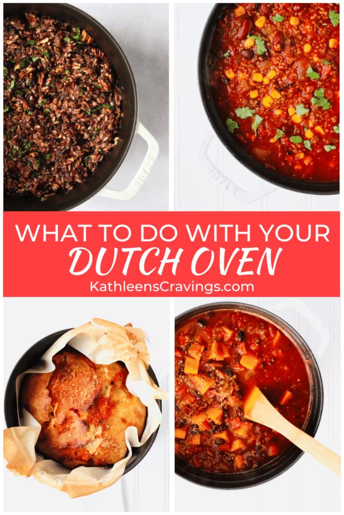Recipes made in a Dutch Oven