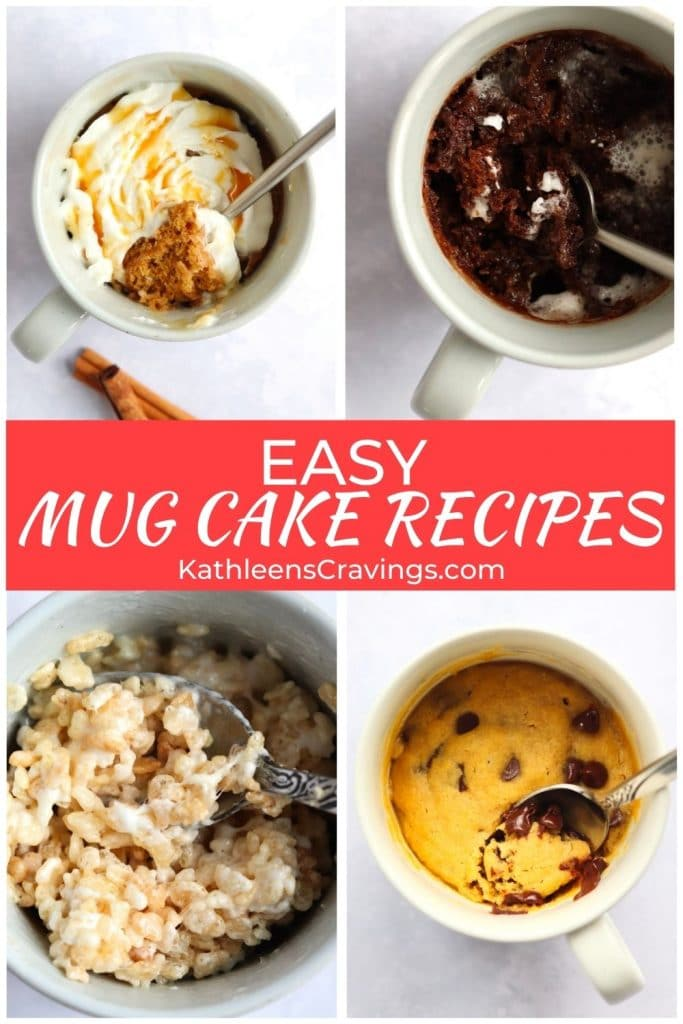 Easy mug cake recipes
