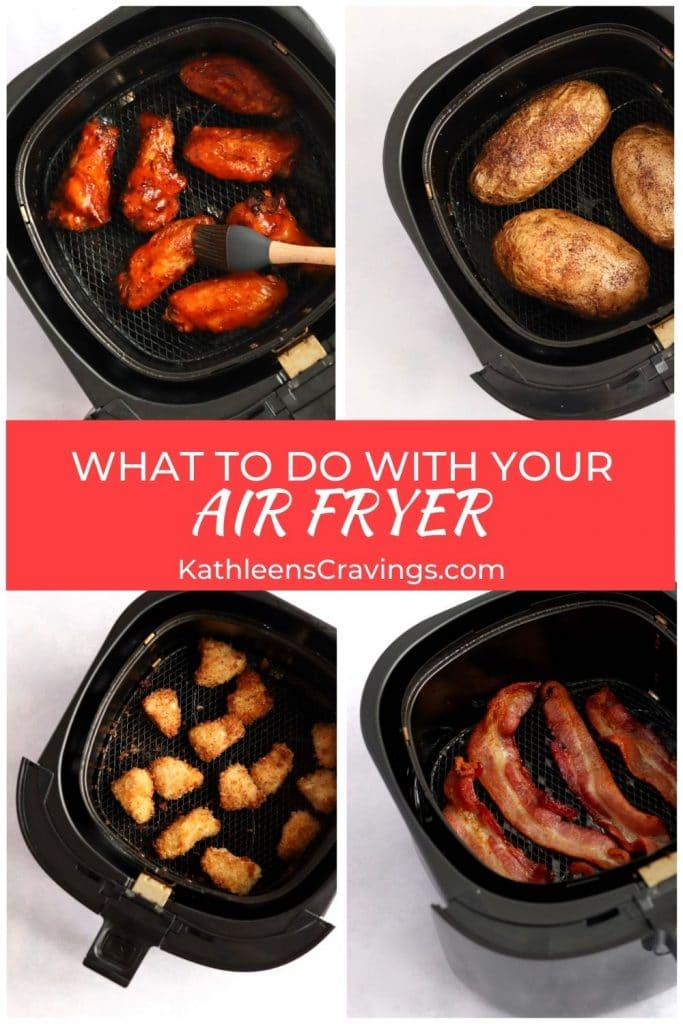 What to do with your air fryer and pictures of recipes in air fryer