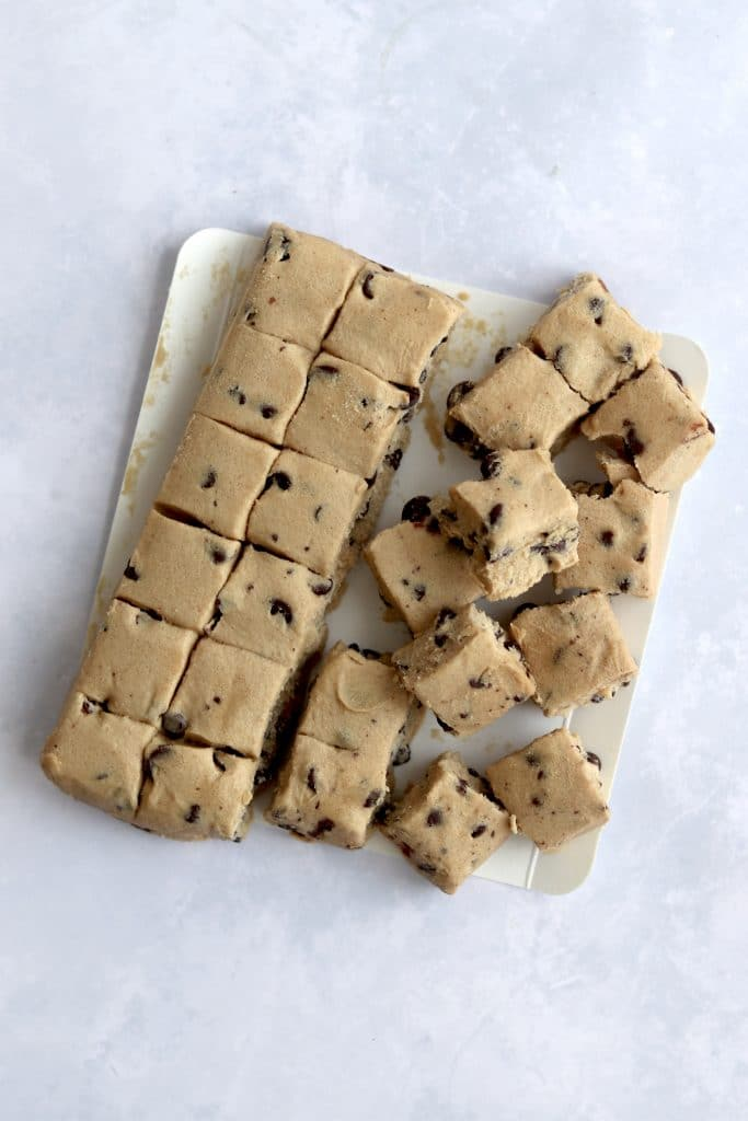 store-bought chocolate chip cookie dough
