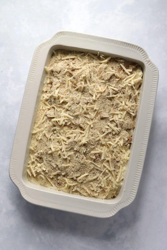 unbaked scalloped potatoes