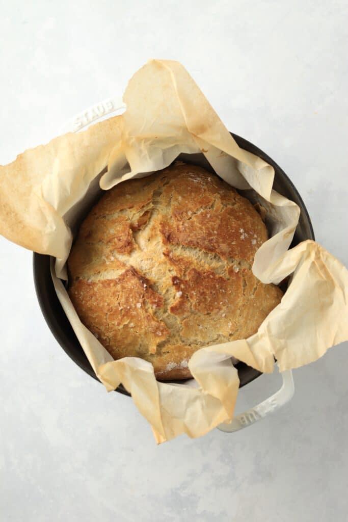 no knead bread in dutch oven