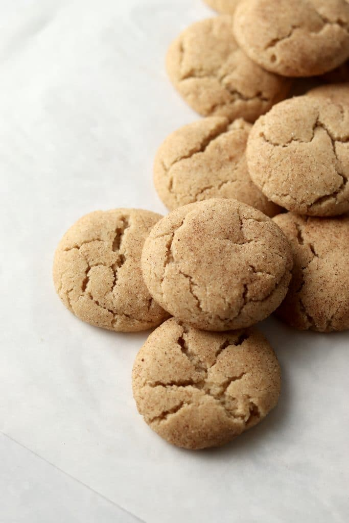 pile of snickerdoodles